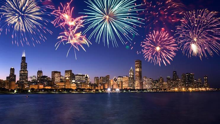 Chicago Architecture Fireworks Tour