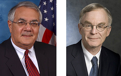 Congressman Barney Frank and H. Rodgin Cohen