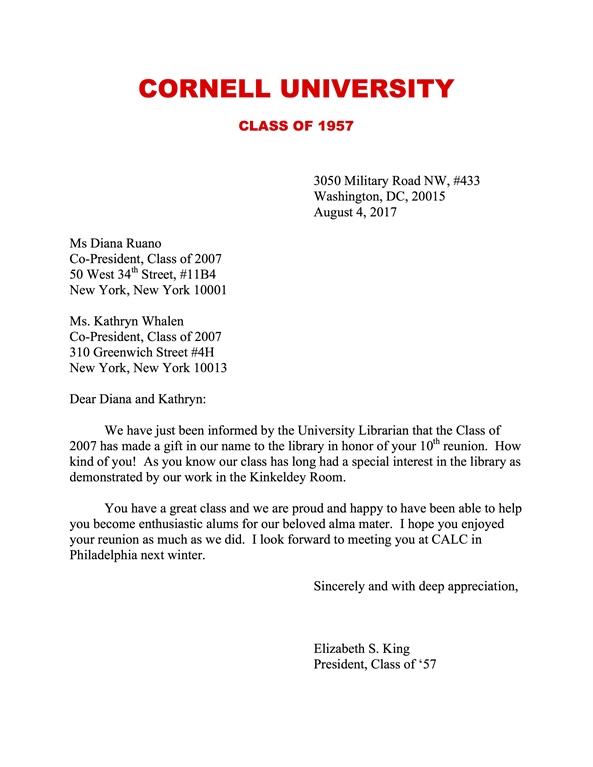 Cornell University Class of 1950s - Community